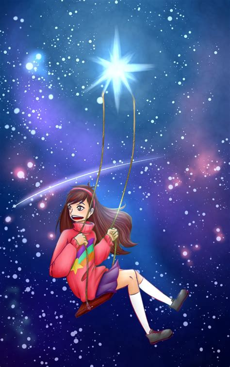 swing from a star swinging on a shooting star by akkeyroomi on deviantart
