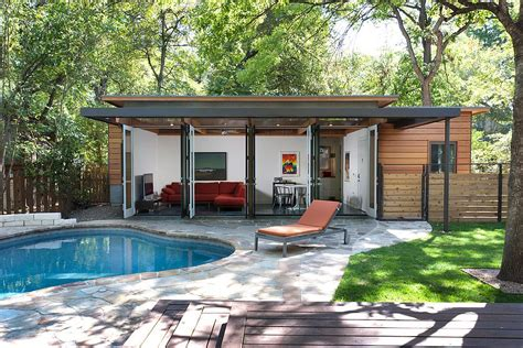 tiny pool house 25 pool houses to complete your dream backyard retreat