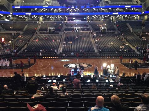 barclays center section 8 barclays center section 8 brooklyn nets rateyourseats com