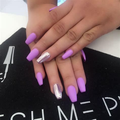 pretty nail colors chrome with matte color 818 478 1300 me pretty