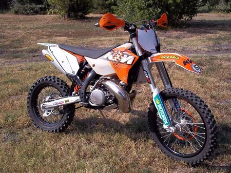 2010 Ktm 300 Xc Specs Buy 2011 Ktm Xc 300 W Dirt Bike On 2040 Motos