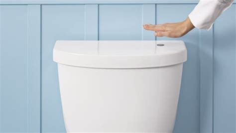 bathroom flusher for 100 you ll never have to touch that germ encrusted