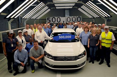 volkswagen chattanooga the motoring world usa volkswagen s chattanooga plant