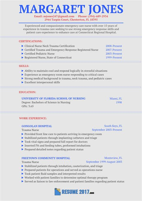 nursing resume sles 2018 guide to using resume 2018 format resume 2018