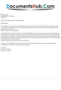 Complaint Letter Against Bank Branch Manager Complaint Letter To Bank Manager Documentshub