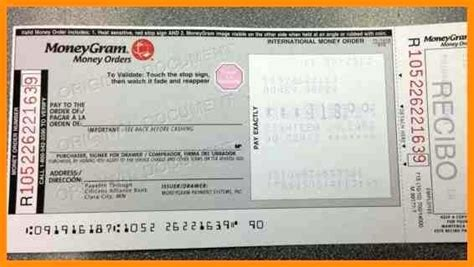 moneygram money order receipt template blank moneygram receipt transfer money from your