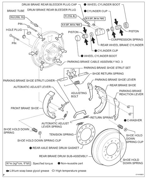 Toyota Hilux Brake System Diagram 2006 Toyota New Brake Shoes On The Back Tyres Back
