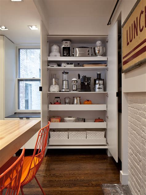 small appliance storage home design ideas pictures