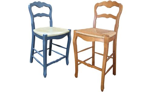 ladderback bar stools country french ladderback counter stool kate madison