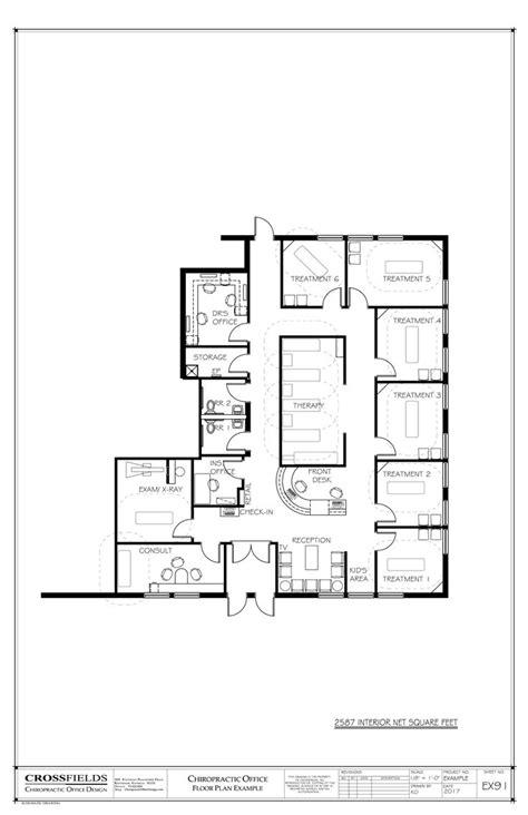 chiropractic office floor plan multi doctor semi open 17 best ideas about office floor plan on pinterest
