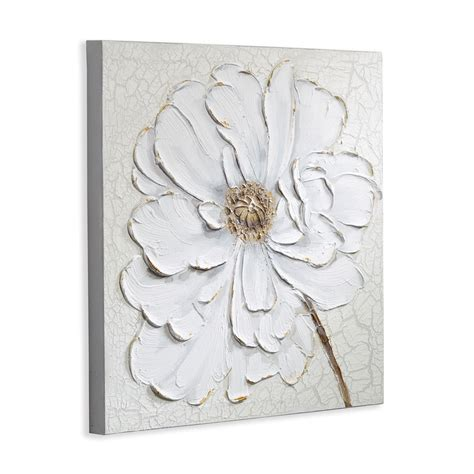plaster wall decor plaster floral canvas arthouse