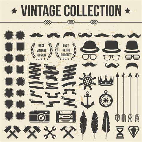 imagenes vectores gratis vintage colecci 243 n de iconos vintage descargar vectores gratis