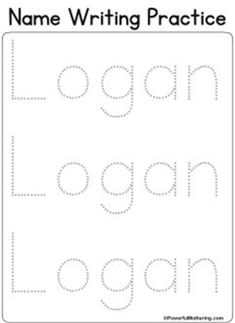 personalized name tracing printable 25 best ideas about different letter fonts on pinterest