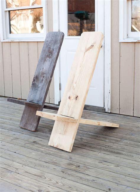 Diy Wood Chair Projects by Weekend Project Make A Wooden Chair From One Board For