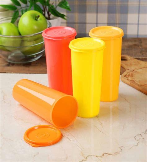 tupperware table accessories set buy tupperware jumbo multicolour plastic 470 ml tumbler