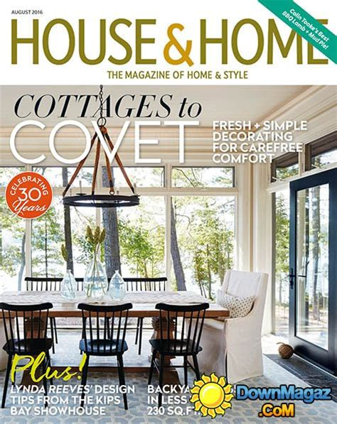 home and design magazine 2016 house home august 2016 187 download pdf magazines