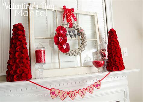 craftaholics anonymous 174 valentine mantel