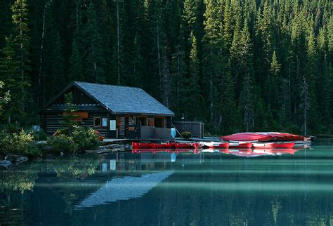 Alberta Cabin Rentals In The Mountains by Canoe Rental Cabin Lake Louise A Photo From Alberta