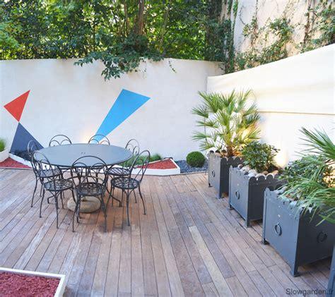 un patio patio marseille un patio plus contemporain d 233 coration