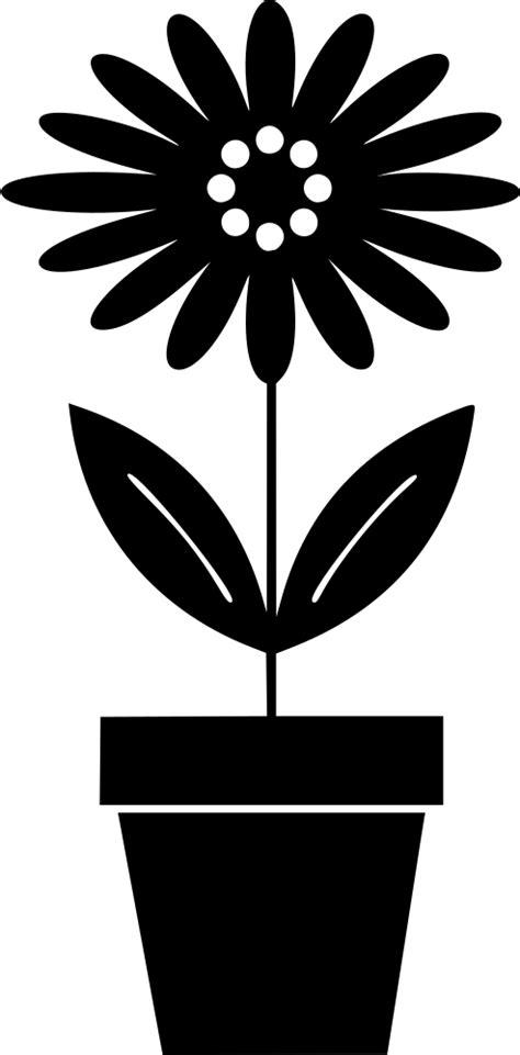 OnlineLabels Clip Art - Potted Plant 3