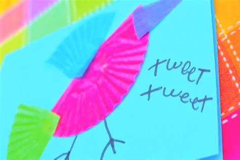 pbs crafts for colorful bird cards crafts for pbs parents