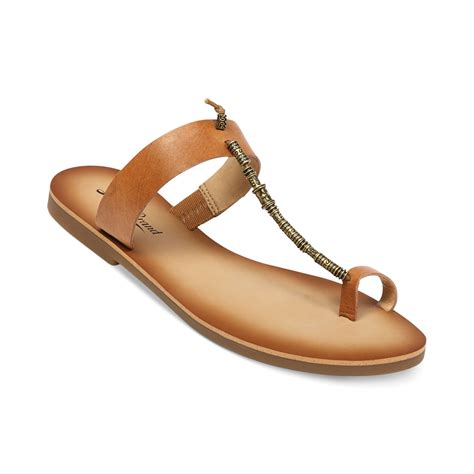 lucky sandals lucky brand womens boah flat sandals in brown