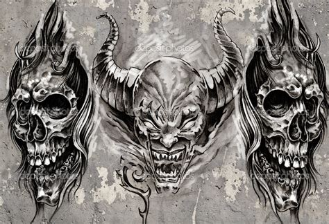 background tattoo designs biomechanical black and gray arte