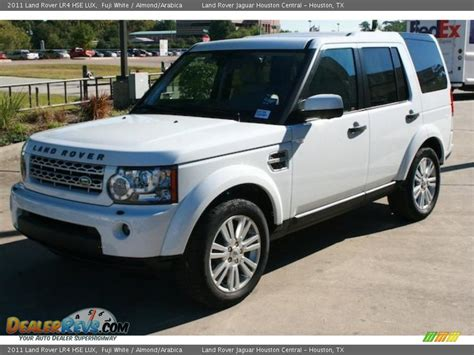 land rover lr4 white fuji white 2011 land rover lr4 hse photo 2