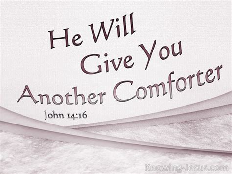 i will send you another comforter john 14 16 verse of the day