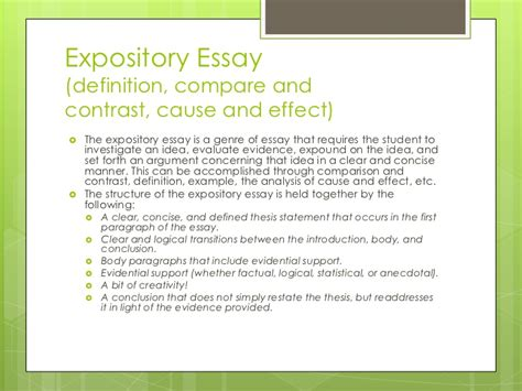 Type Of Essay Writing by Types Or Essays