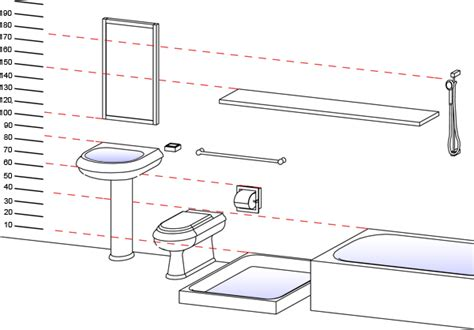 typical bathroom sink height sanitary ware and accessories standard heights
