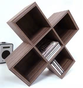 Cd Storage Rack by Cube Cd Rack By Lilly Notonthehighstreet