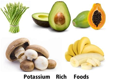 vegetables rich in potassium potassium rich foods list of foods rich in potassium