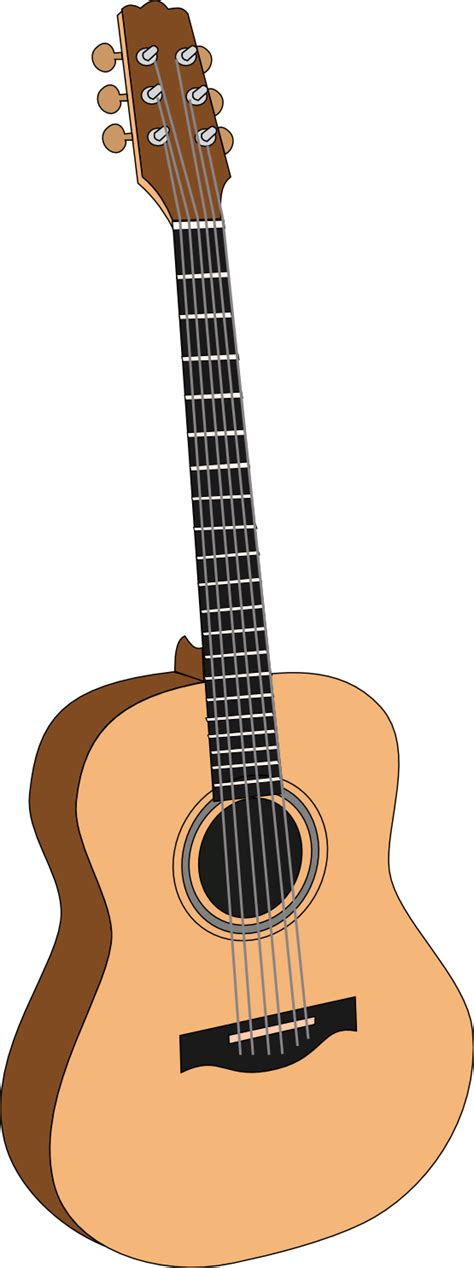 guitar clipart free to use domain acoustic guitar clip