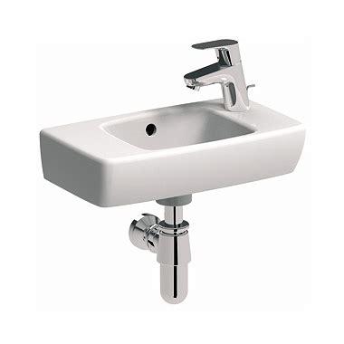 po waschbecken umywalka prostokątna pro 45 cm z otworem po prawej