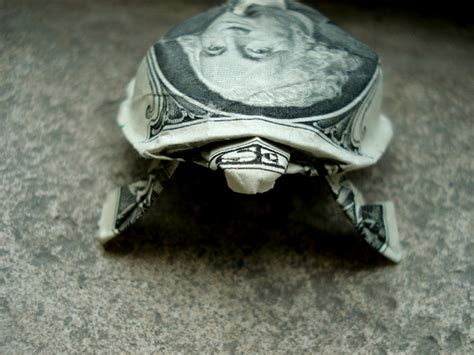 Origami Turtle Dollar Bill - the affordables forum exchange free straps and