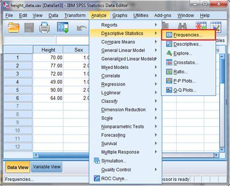 tutorial spss split plot analyzing a dataset department of information technology