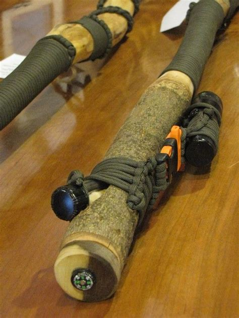 Handmade Outdoor Gear - awesome hiking sticks survival