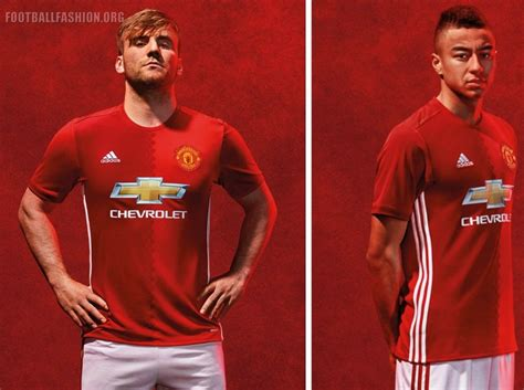 Jersey Manchester United 2016 2017 manchester united 2016 17 adidas home kit football