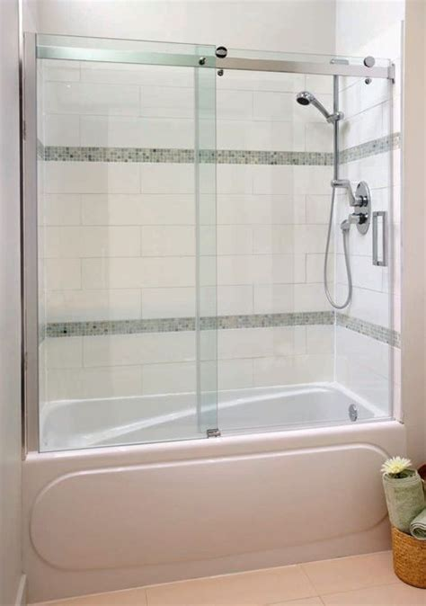 glass enclosures for bathtubs best 25 bathtub enclosures ideas on pinterest glass