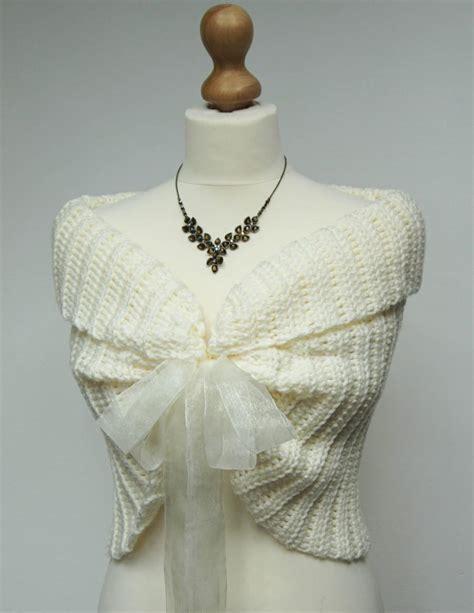 braut bolero ivory lace bridal bolero ivory wedding shrug crochet lace