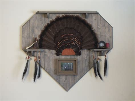 how to mount a turkey fan pinterest