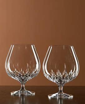 vera wang brandy glass duchesse glassware