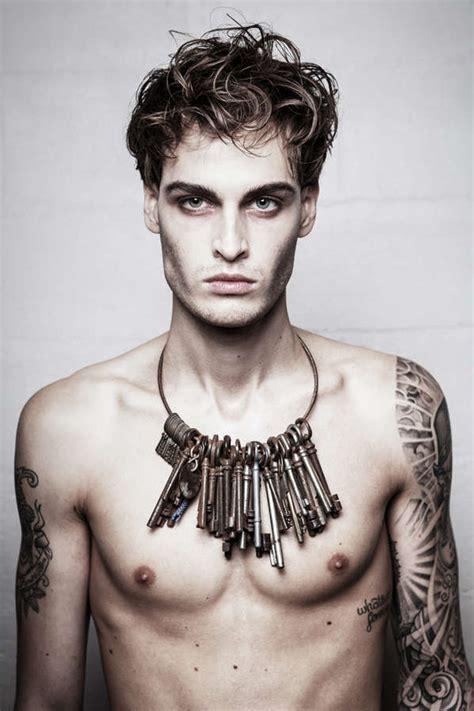 tattoo makeup guy dark tattoo filled photography men s fashion photography