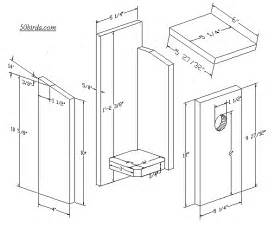 Western Bluebird House Plans Attracting Eastern Bluebirds Bird House Plans