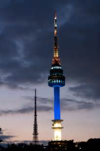 The n seoul tower is a communication and observation tower located on