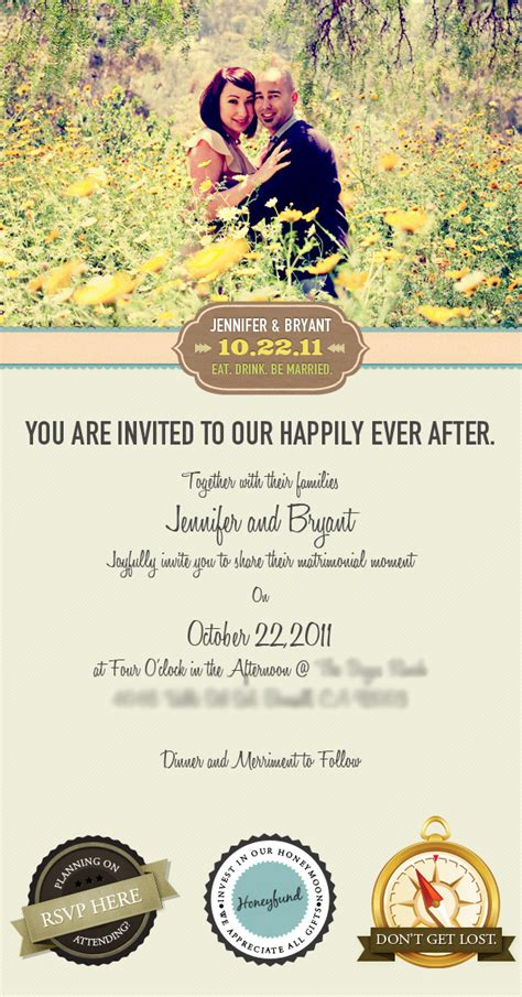 E Wedding Invitation Templates by Email Wedding Invitation On Behance
