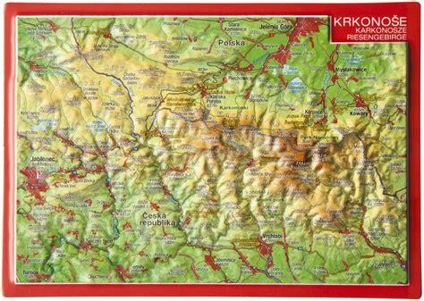 Deutsches Büro Grüne Karte Fax by 3d Reliefpostkarte Riesengebirge 3d Reliefkarten 3d