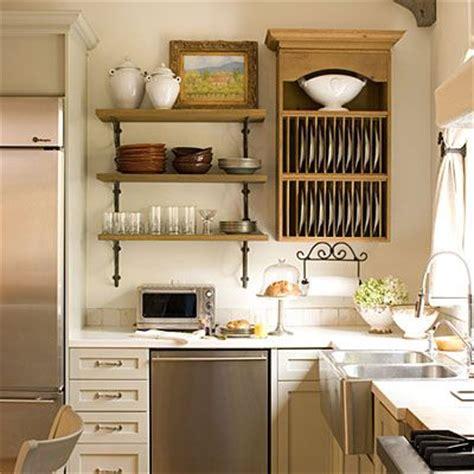 open shelving in a bright kitchen decoist best 20 country kitchen shelves ideas on pinterest