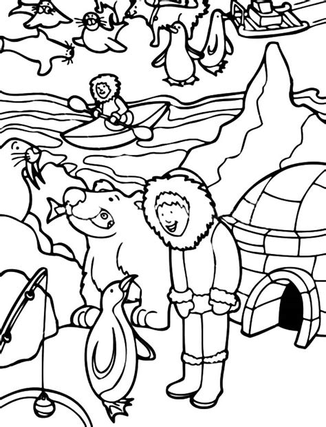 Activity Coloring Pages Color Activities For Kids Az Coloring Pages Eskimo Activity In Alaska Coloring Pages